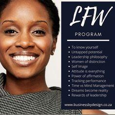 Leadership program for women #LFW #womensmonth