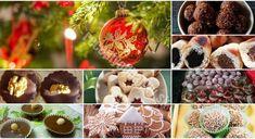 Už nepotrebujete hľadať nič iné: 15 najlepších VIANOČNÝCH RECEPTOV na obľúbené zákusky!! - Recepty od babky Christmas Bulbs, Stuffed Mushrooms, Muffin, Food And Drink, December, Diet, Vegetables, Holiday Decor, Cooking