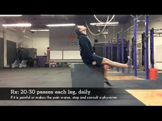 """The 2 Minute Mix: Sciatic Nerve Flossing from http://drscottamills.com Many people suffer from chronic low back pain, sciatica, and hamstring """"tightness"""" and..."""