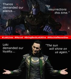 """For myself, for a long time… maybe I felt inauthentic or something, I felt like my voice wasn't worth hearing, and I think everyone's voice is worth hearing. So if you've got something to say, say it from the rooftops."" ― Tom Hiddleston #LokiLives #Marvel #BringBackLokiAlive #MischiefNeverDies"