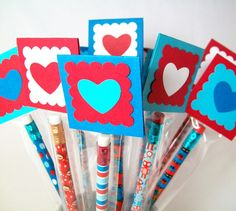 What a cute idea for Valentine's Day!