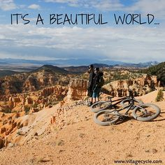 And it's best explored by bike. #GetOutThere #Adventure #Motivation #BikeRide #VillageCycle #Biking #Beautiful #Farley #FatBikes #TrekBikes