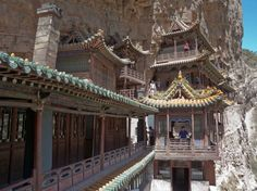 Hanging Temple of Hengshan, China