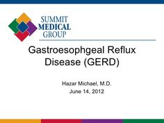 New Treatments for GERD and Barrett's Esophagus Doing it too....Life expectancy 50