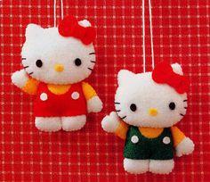 Broche Fieltro Hello Kitty