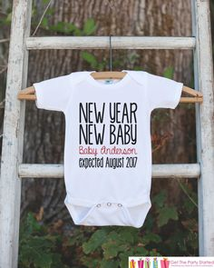 Stop by and check out our new item! New Year New Baby.... Check it out here! http://7ate9apparel.com/products/new-year-new-baby-onepiece-custom-new-years-eve-outfit-newborn-keepsake-outfit-1st-new-year-bodysuit-for-baby-girls-or-baby-boys?utm_campaign=social_autopilot&utm_source=pin&utm_medium=pin
