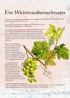 Ein Weintraubenschnaps