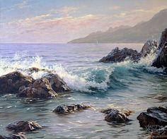 Seascape Artists | Adamow Alexis - 'Seascape'