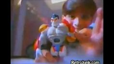 Action figure commercials