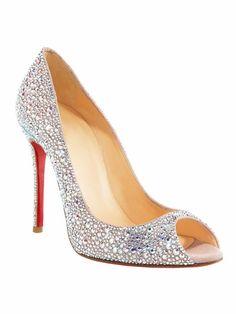 These remind me of Cinderella's glass slipper... my fav Disney movie