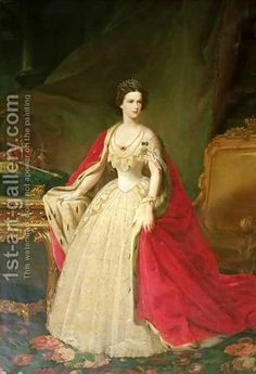 Empress Elizabeth 1837-98 of Bavaria - Giuseppe Sogni - Oil Painting Reproductions
