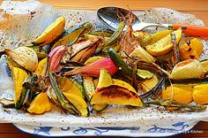 Lemon Pepper Rustic Farm Veggies