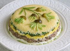 Святковий салат Водолій. Рецепт закуски до святкового столу  #салаты #кулинария #рецепты #деньрождение