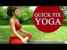 Shilpa Shetty's 'Quick Fix Yoga' - 15 Min Full Body Workout. In a fast moving life one needs a crash course for everything available around them. Morning Yoga Workouts, Morning Yoga Routine, Beginner Yoga Workout, Workout For Beginners, Yoga Fitness, Workout Fitness, Fitness Motivation, Funny Fitness, Shilpa Shetty Yoga