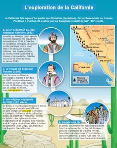 Fiche exposés : L'exploration de la Californie