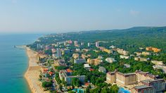 Golden Sands is one of the biggest seaside resorts and the biggest on the northern coast of Bulgaria. It is located close to the city of Varna and has easy access to Varna International Airport and major motorways. ♒ Learn more about the resort Sands Resort, Holiday Hotel, Seaside Resort, International Airport, Bulgaria, Dolores Park, Coast, Tower, Journey