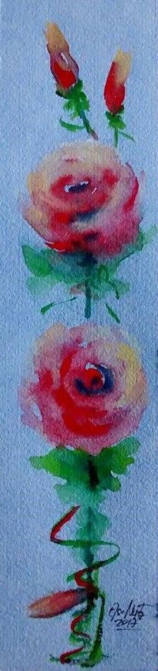 watercolor | Elsa Nutz Flores Flowers
