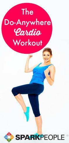 A Zero-Equipment Cardio Jump-Start. Fantastic workout that you can really do anywhere. This saves me when I'm traveling!
