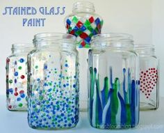 Pintar sobre vidrio o cristal