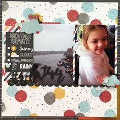 Rainy...#whatever playing along with the Live Out Loud Challenge @paperissues #simplestories #disneyscrappers #scrapbooking #paperissues