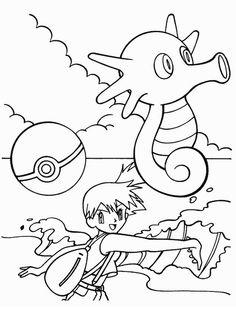 Desenhos para pintar Pokemon 28
