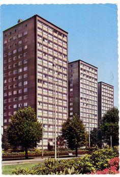St Etienne - Pasteur Le Pigeon, St Etienne, Architecture, Saints, Multi Story Building, Lost, Future, Urban Planning, Cards