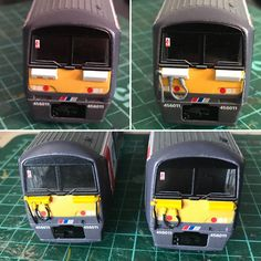 ‪It's been a very challenging project, but now this train hopefully looks less of a class 32x and more of a class 456. ‬