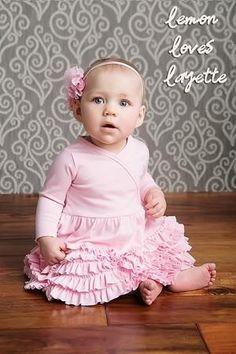 Lemon Loves Layette Rose Shadow Jada Dress