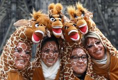 Eröffnung des Karneval: Köln