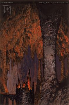 The Forging of the One · Ted Nasmith.