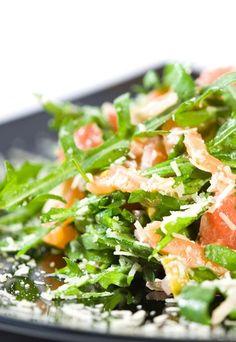 Avocado-Salat mit Räucherlachs