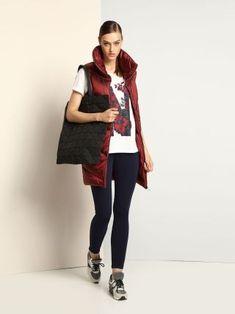 Vesta lunga de fas dama rosie matlasata Normcore, Casual, Sports, Style, Fashion, Lady, Jacket, Hs Sports, Swag