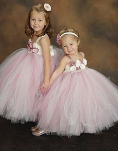 Off white dark mauve junior bridesmaid dress square tulle flower dusty rose and ivory flower girl tulle dress by anabeandesigns mightylinksfo