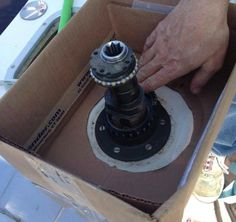Servicing Boat Winches: Taking apart a winch can be downright scary -- what if you lose one of the pieces? Keep things together with this DIY tip.