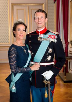kongehuset.dk: The Danish Royal Court released new photos of Prince Joachim and Princess Marie, October 5, 2015