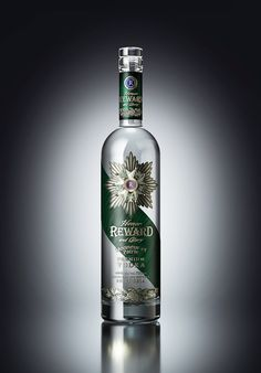 "Vodka ""REWARD"" on Behance"