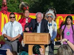 Bernie Sanders Joins Protest Against North Dakota Pipeline - Your News Wire