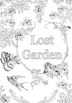 ClippedOnIssuu From Lost Garden Coloring Book
