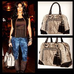#affordableluxury this fall with this #Cuadra San Marino #handmade bag featuring genuine python skin. Available in our Xixo boutique in Downtown Vancouver  or with Free Shipping and Return within Canada www.xixoapparel.com    #womensfashion #styleforwomen #sexy #fallfashion  #luxuryhandbag #luxuryfashion #luxuryleather #fallhandbags #exotichandbag #vancouver #calgary #edmonton #quebec #montreal #toronto #ottawa #canadianwomen #canadianfashion #elegance #limitededition #feelingspecial