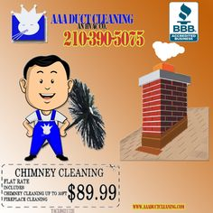 Chimney Cap, Chimney Sweep, Senior Citizen Discounts, Duct Cleaning, Cleaning Service, San Antonio