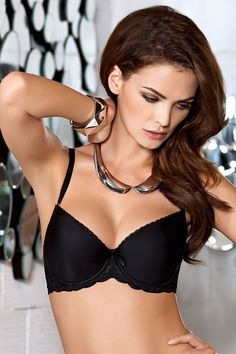 d78305147c Nipplex Patricia underwired padded push-up bra with inserts strapless lace