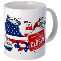 America Closed Mugs