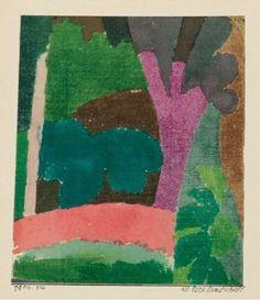 Kleine Parklandschaft, 1914, Klee