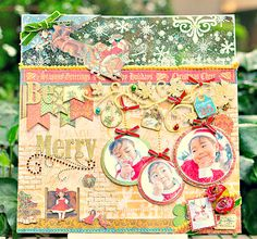 Graphic 45 - Be Merry - Scrapbook.com