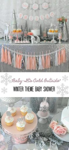 "Warm up with some sweet ""Baby It's Cold Outside"" shower ideas here!"