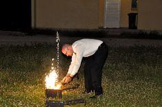 FIRE!!! A 3 ládába háromféleképpen voltak bekötve a dolgok, így mindegyik másként lobbant fel.