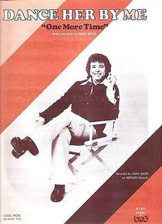 Sheet Music 1962 Dance Her By Me Jacky Ward 54