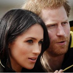 Prince Harry and Ms Meghan Markle