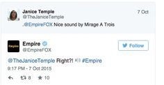 Janice Temple Social Media Consulting and Services: @TheJaniceTemple Right?! �� #Empire — Empire (@EmpireFOX)