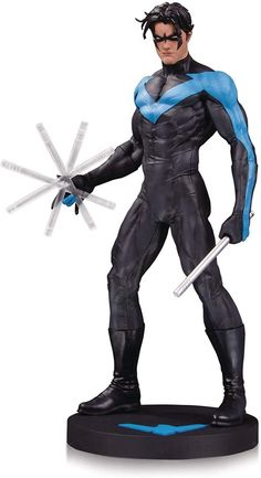 DC Comics Nightwing Statue by DC Collectibles Ms Marvel, Captain Marvel, Captain America, Dc Comics, Marvel Statues, Batman Hush, Jim Lee, Sideshow Collectibles, Silver Surfer
